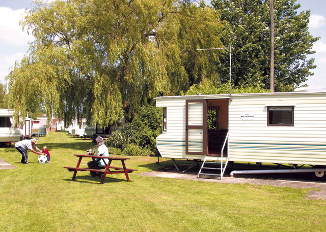 Broadland Holiday Park in Oulton Broad Suffolk