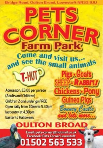 pets corner in lowestoft [oulton broad] a mini zoo