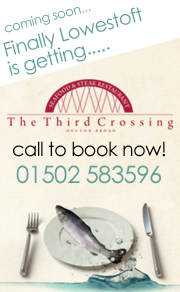 Come and Enjoy a Meal at The Third Crossing Restaurant in Oulton Broad