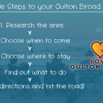 How to come on a holiday or short break in Oulton Broad